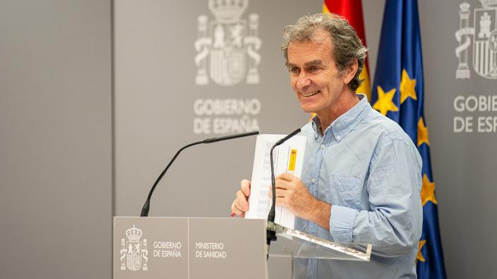 Vacaciones para Fernando Simón