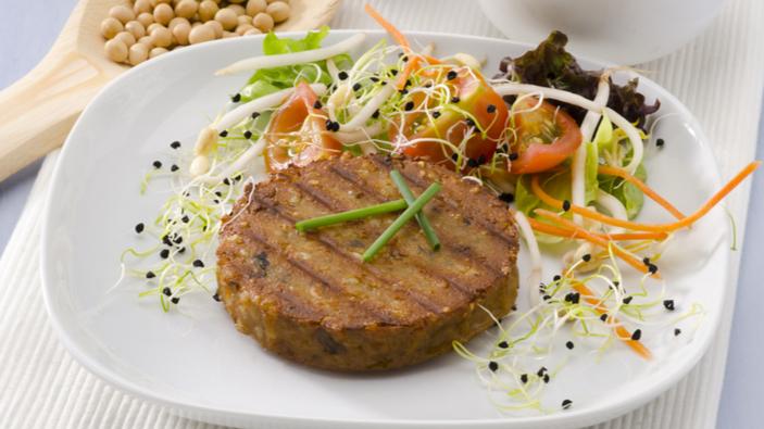 Selon une étude, les produits végétariens sont principalement composés d'eau