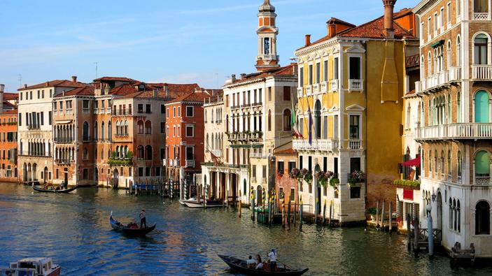 Il MOSE protegge Venezia dall'acqua alta