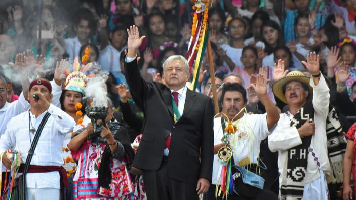López Obrador exige disculpas por la conquista de México