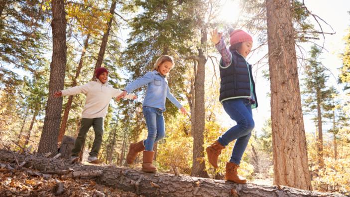 Jouer au milieu de la verdure peut stimuler le système immunitaire des enfants en un mois
