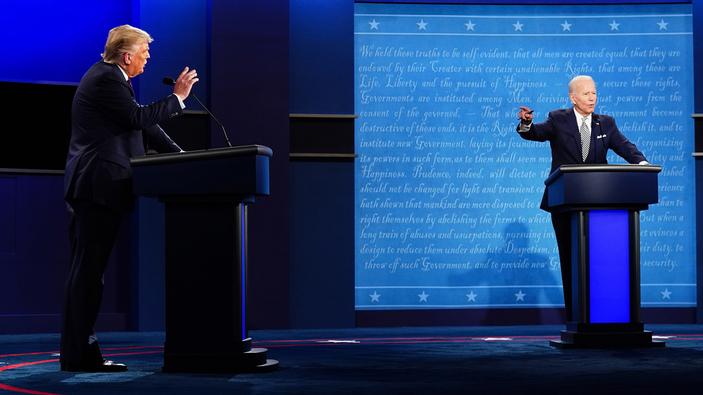 Presidenziali USA, il confronto tra Biden e Trump mostra due visioni opposte dell'America