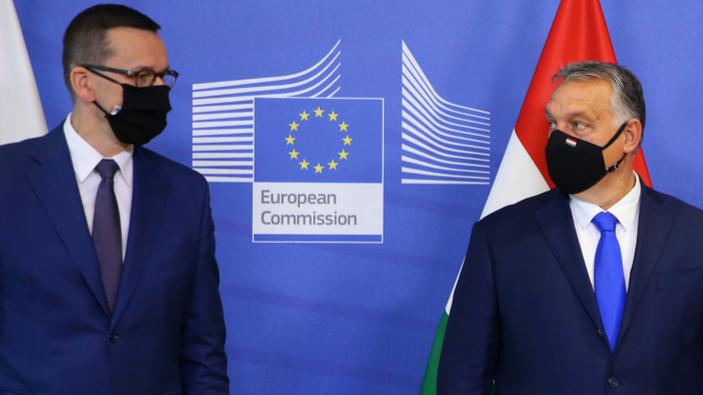 Ungarn und Polen drohen mit Veto gegen EU-Haushalt wegen Meinungsverschiedenheiten über demokratische Werte
