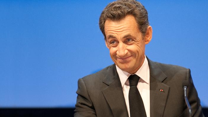 L'ancien président Nicolas Sarkozy sur le banc des accusés