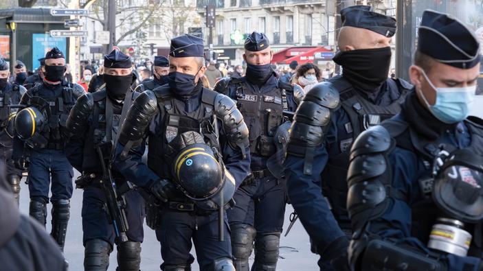 La France se mobilise contre la loi « sécurité globale »