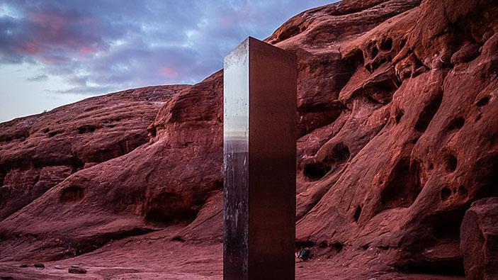 Étrange découverte dans le désert de l'Utah
