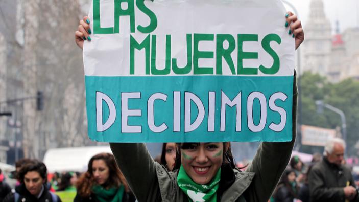 Avanza la legalización del aborto en Argentina
