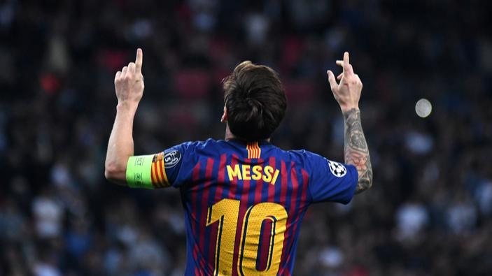Messi iguala récord de goles de Pelé