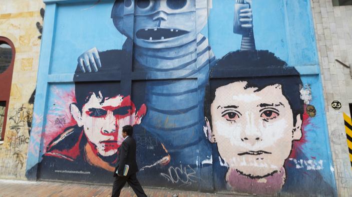 Un libro que recoge el arte urbano colombiano