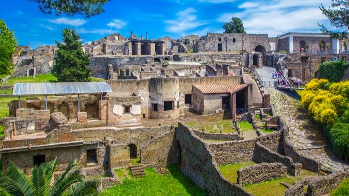 """Descubren un """"snack bar"""" en las ruinas de Pompeya"""