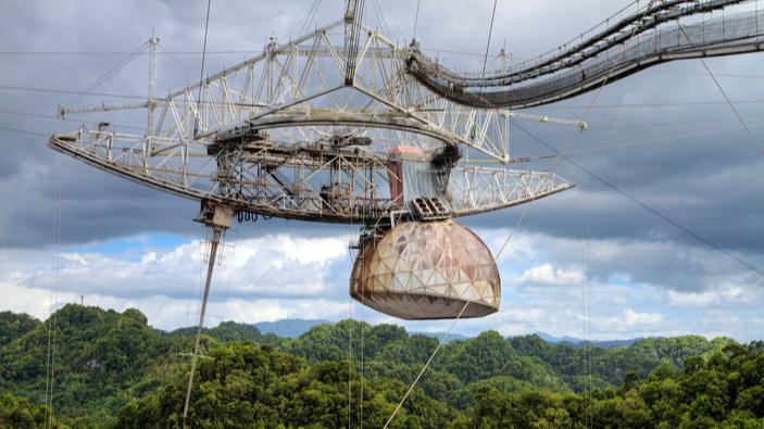 Puerto Rico anuncia fondos para reconstruir el Observatorio de Arecibo