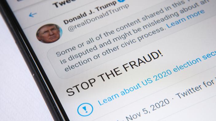 ¿Es legítimo silenciar a Trump en redes sociales?