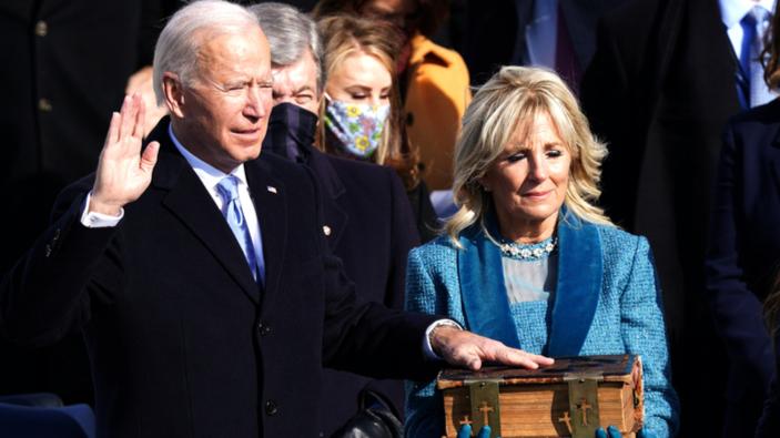 Joe Biden se convierte en el 46º presidente de Estados Unidos