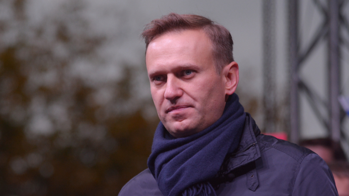 L'avversario di Putin, Aleksei Navalny, imprigionato al suo ritorno in Russia