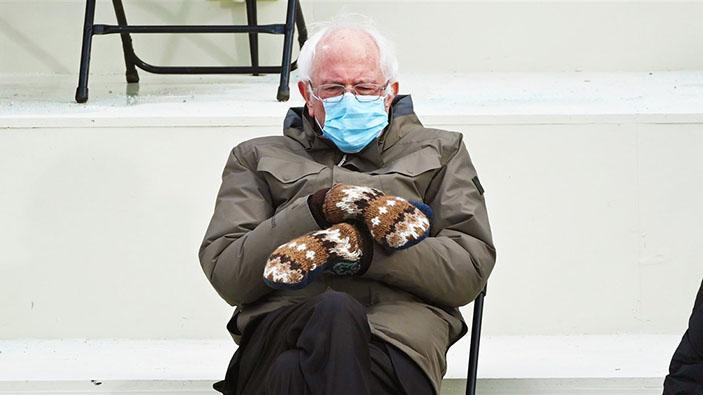 Les moufles de Bernie ont parlé