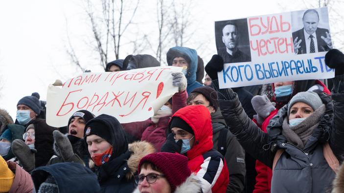 Navalny redobla su pulso a Putin