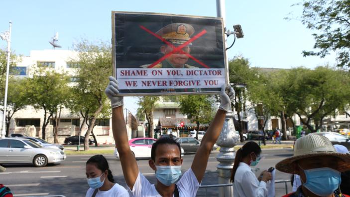 Militärputsch in Myanmar