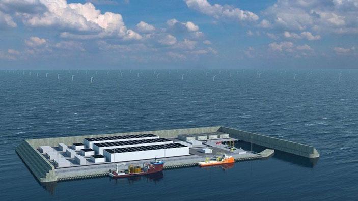 Le Danemark va construire la première « île énergétique » du monde en mer du Nord