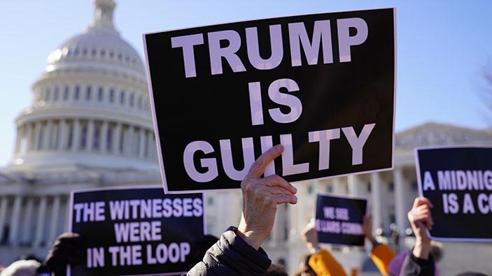 Trump acquitté pour la seconde fois