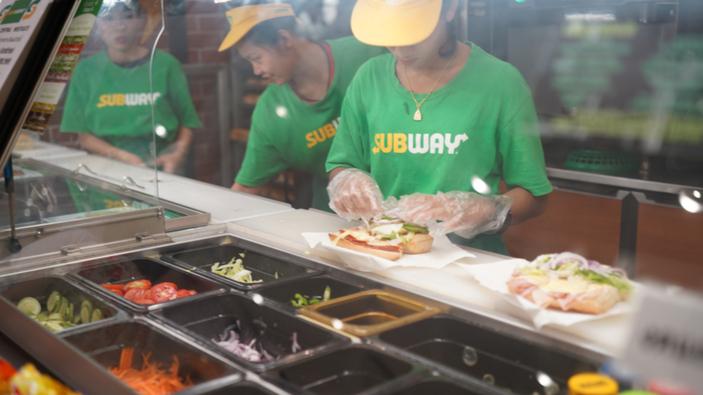 La salade de thon de Subway contient-elle du vrai thon ?