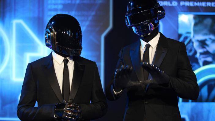 Le groupe français Daft Punk se sépare