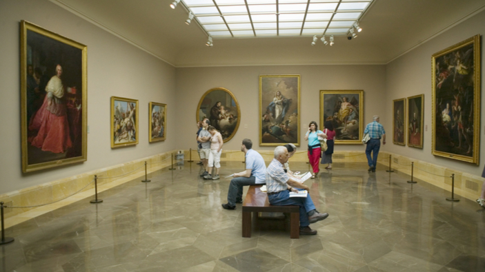 Los ahorros de un maestra enriquecen las salas del Museo del Prado