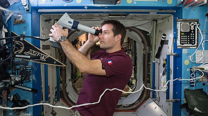 La France sous le charme de l'astronaute Thomas Pesquet