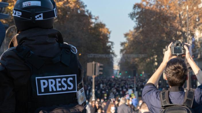 Une liberté de la presse en recul à cause de la pandémie