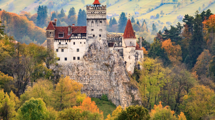 El castillo de Drácula en Rumania ofrece vacunas a los turistas