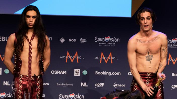 I Måneskin vincono l'Eurovision Song Contest