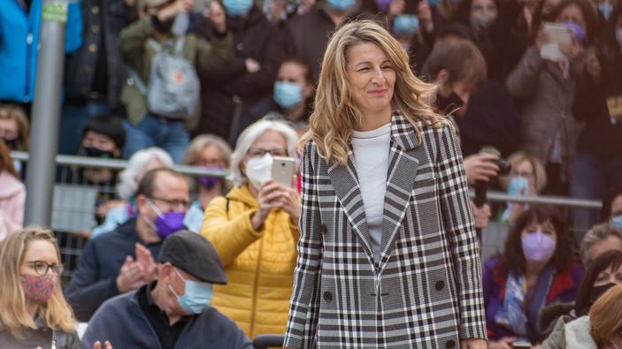 Yolanda Díaz, el nuevo rostro de la izquierda radical española
