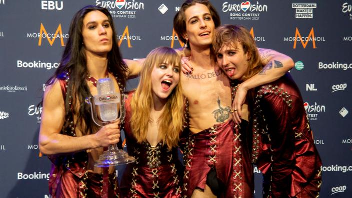 Italia gana el concurso musical de Eurovisión 2021
