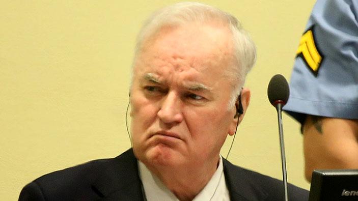 UN-Gericht bestätigt lebenslange Haftstrafe für Ratko Mladić wegen Völkermordes und Kriegsverbrechen