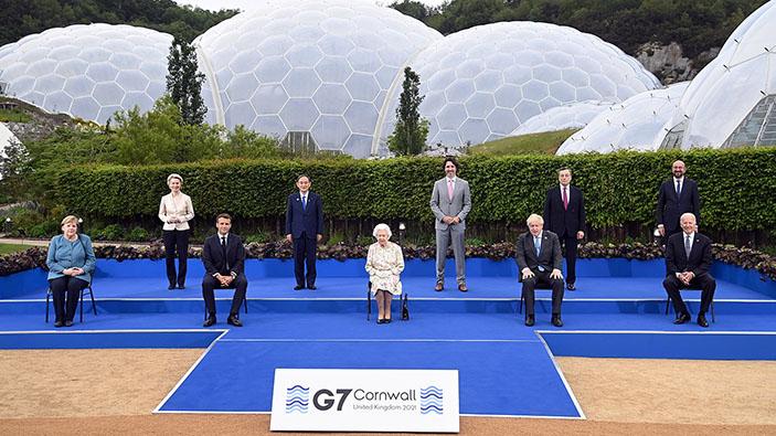 I leader del G7 trovano un accordo sul cambiamento climatico, la lotta contro la pandemia e la tassa globale