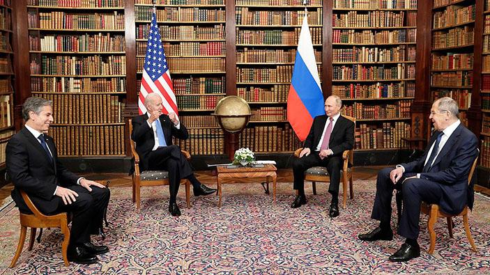Ginevra, prove di disgelo tra Joe Biden e Vladimir Putin