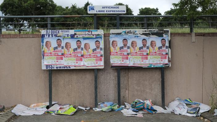 En France, des élections régionales marquées par l'abstention