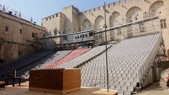 Festival de théâtre d'Avignon : retrouvailles des acteurs et du public