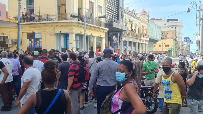 Des protestations inédites à Cuba