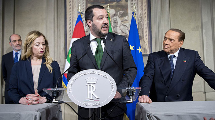 Un parti d'extrême droite italien aux racines fascistes va-t-il diriger la coalition conservatrice ?