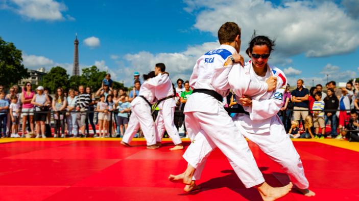 L'amour des Français pour le judo