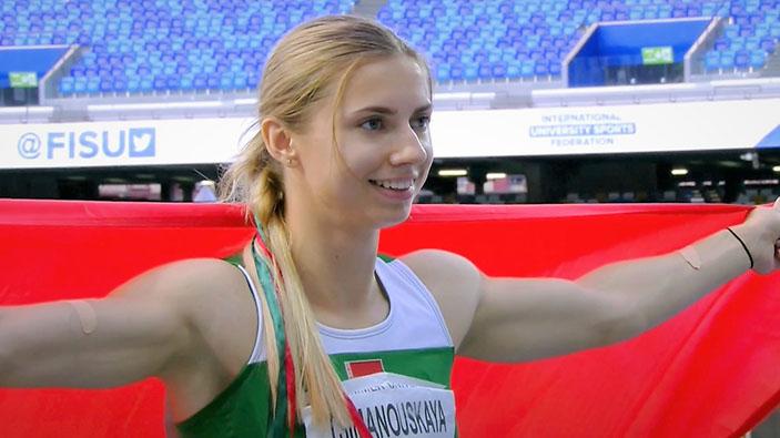 Krystsina Tsimanouskaya escapa de las garras de Lukashenko