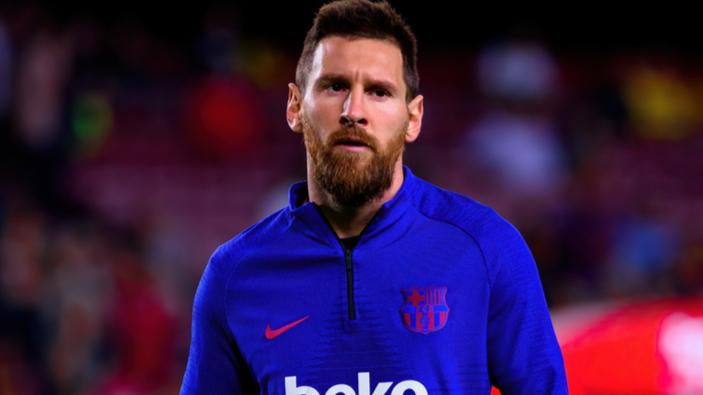 Lionel Messi arrive au club Paris-Saint-Germain