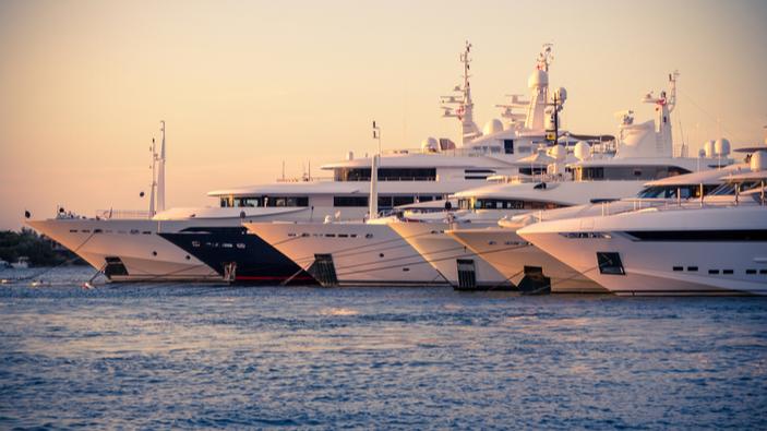 Il mare italiano, meta preferita dei megayacht