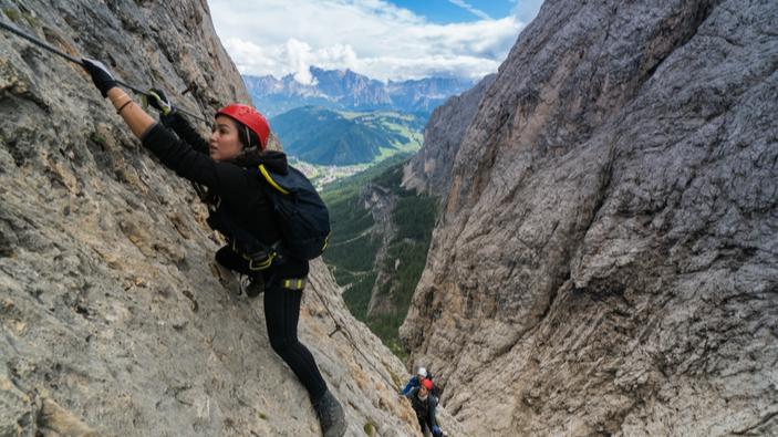 Dolomiti, polemiche per la messa in sicurezza della ferrata Bepi Zac