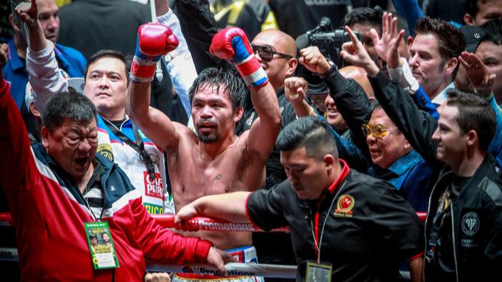 Manny Pacquiao si candida alla presidenza delle Filippine
