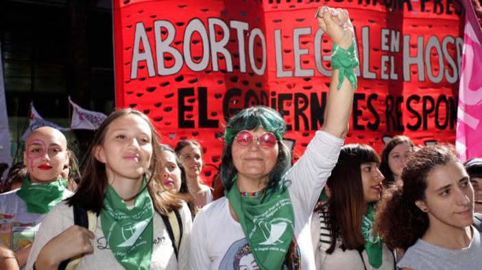 Se reactiva en Argentina el movimiento ciudadano a favor del aborto